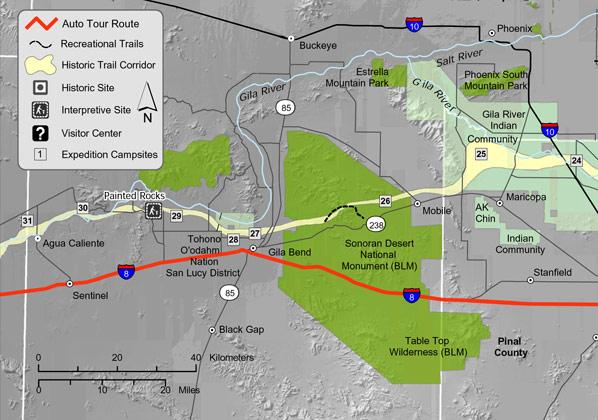 Anza National Historic Trail Maricopa County Guide