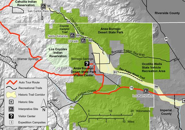 Juan Bautista de Anza National Historic Trail Guide San Diego County