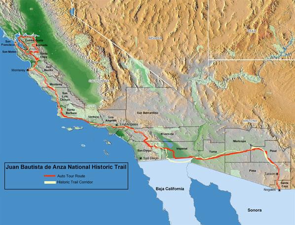 Juan Bautista de Anza National Historic Trail Guide on