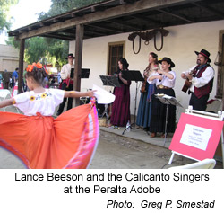 Lance Beeson and the Calicanto Singers