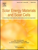 Solar Energy Materials and Solar Cells Journal